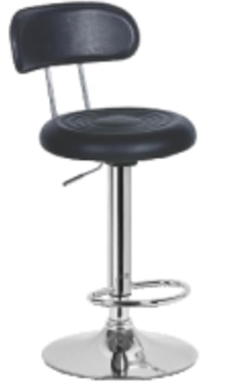 Ghế quầy cao có lưng – chân mâm – KG-010ML