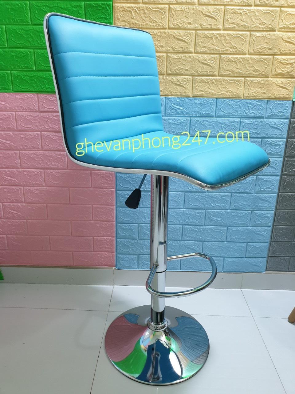 Ghế quầy bar tựa lưng cao chân nâng hạ : KG – A432