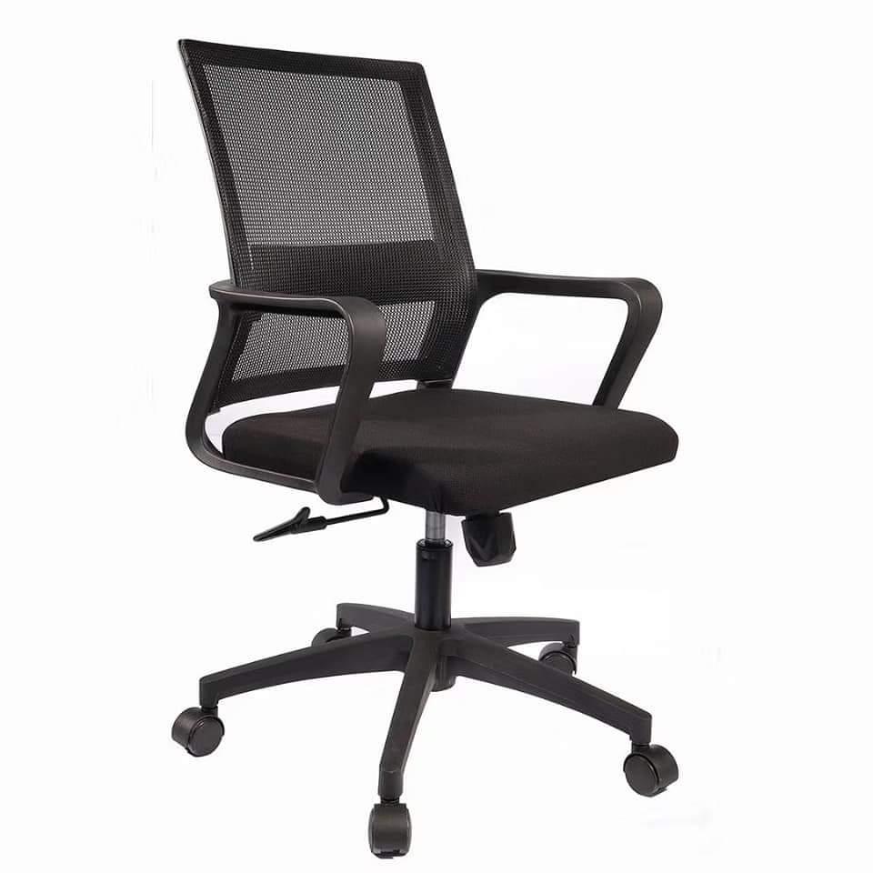 Ghế văn phòng lưng lưới chân nhựa cao cấp : KG – B107