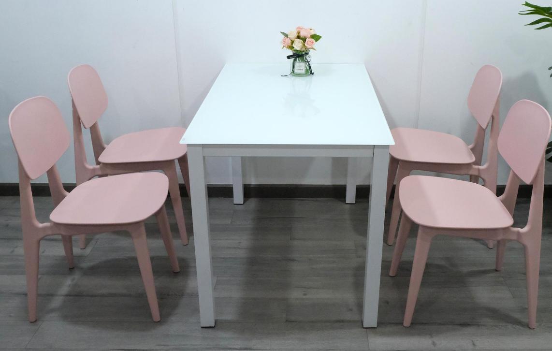 Bộ bàn ăn kính hiện đại giá rẻ : KG – T156-4