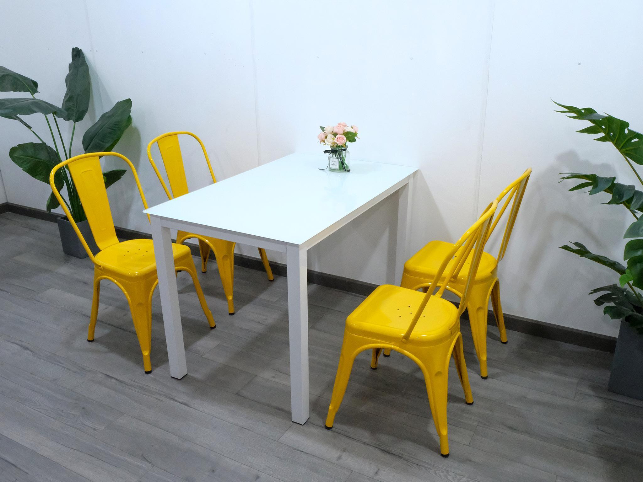 Bộ bàn ghế phòng ăn giá rẻ – Mã: T154-4