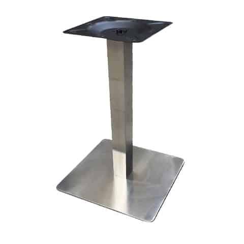 Chân bàn cafe inox cao 75cm : KG – D75