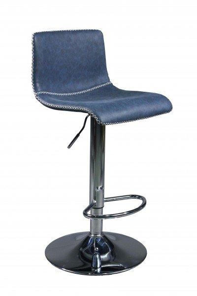 Ghế bar chân sắt mạ xi inox : KG – Q609