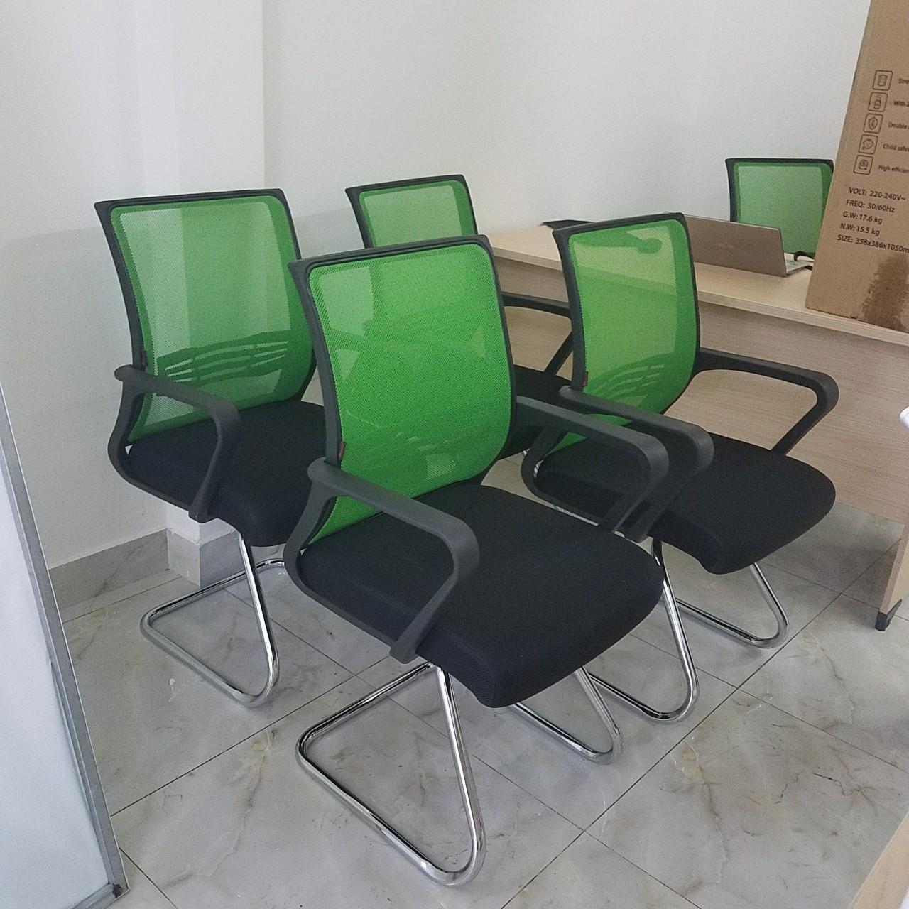 Ghế lưới chân quỳ màu theo yêu cầu : KG – 119C