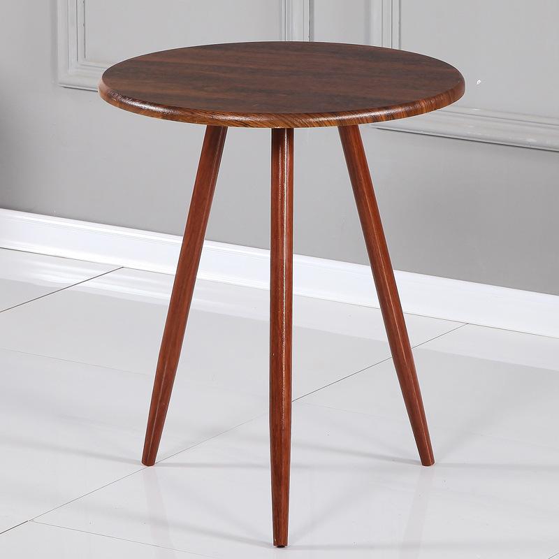 Bàn ăn, bàn cafe 3 chân sắt sơn giả gỗ : KG – B103