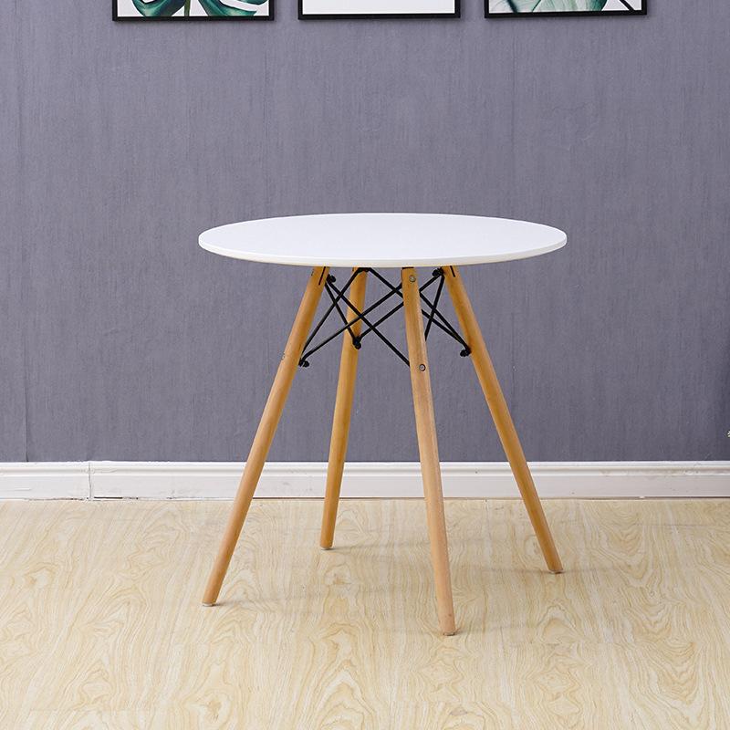 Bàn cafe – bàn ăn mặt 60cm 4 chân đan giá rẻ : KG – B104