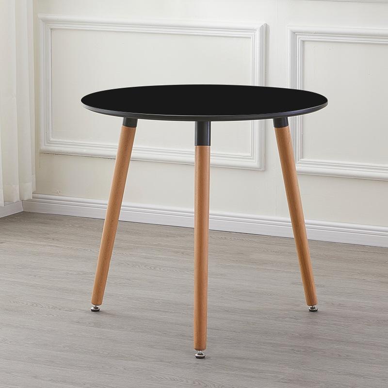 Bàn cafe – tiếp khách văn phòng 3 chân mặt 60cm : KG – M60