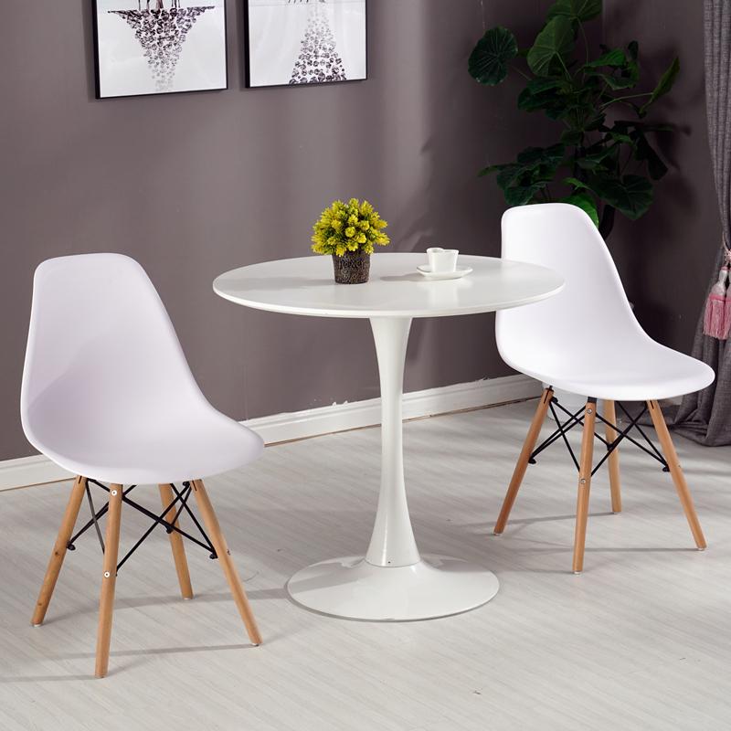 Bàn tròn 2 ghế tiếp khách giá rẻ : KG – T117-2