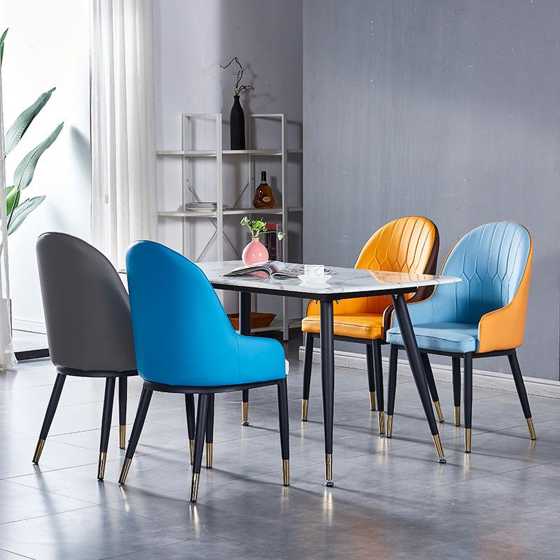 Bộ bàn ăn mặt đá ghế nệm hiện đại : KG – T147-13