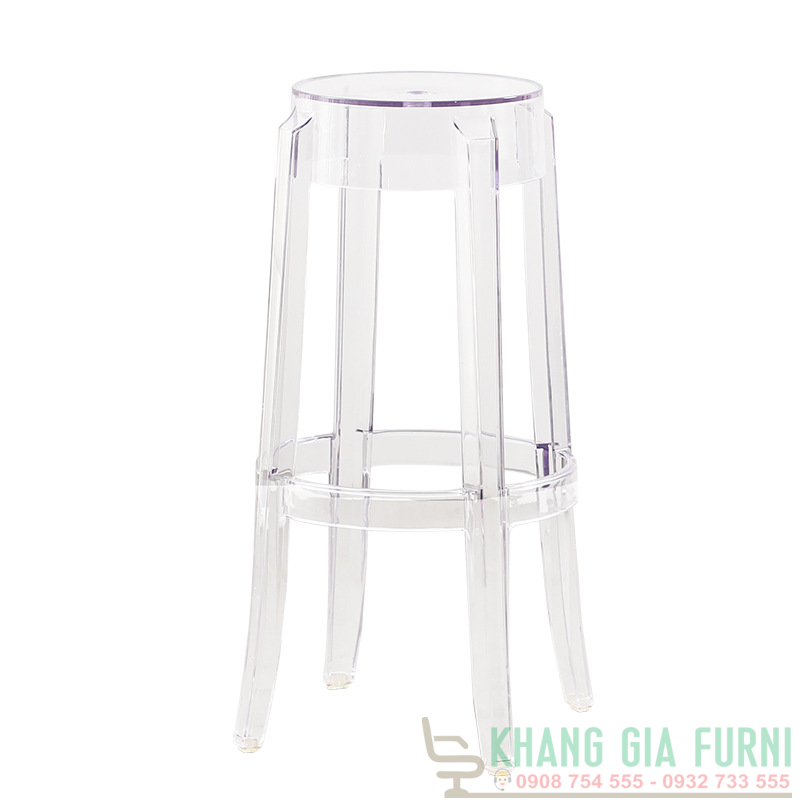 GHẾ GHOST BAR STOOL : KG – 472