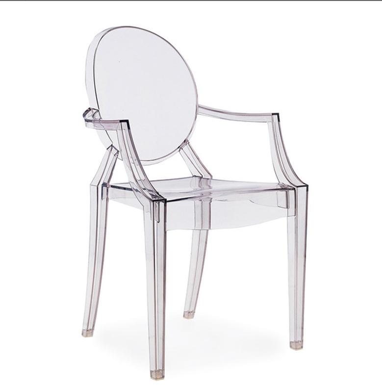 Ghế ăn hiện đại trong suốt : KG – E256
