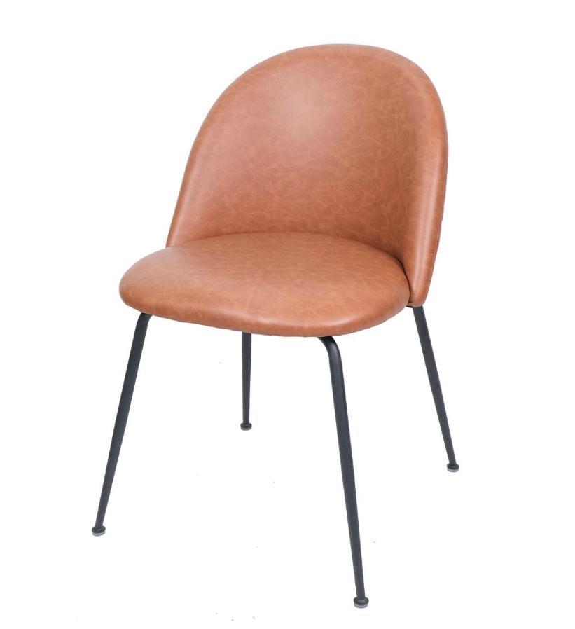 Ghế ăn nệm chân sắt sơn tĩnh điện : KG – E292