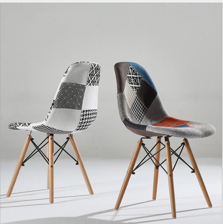 Ghế Cafe Eames bọc vải đẹp : KG – E207