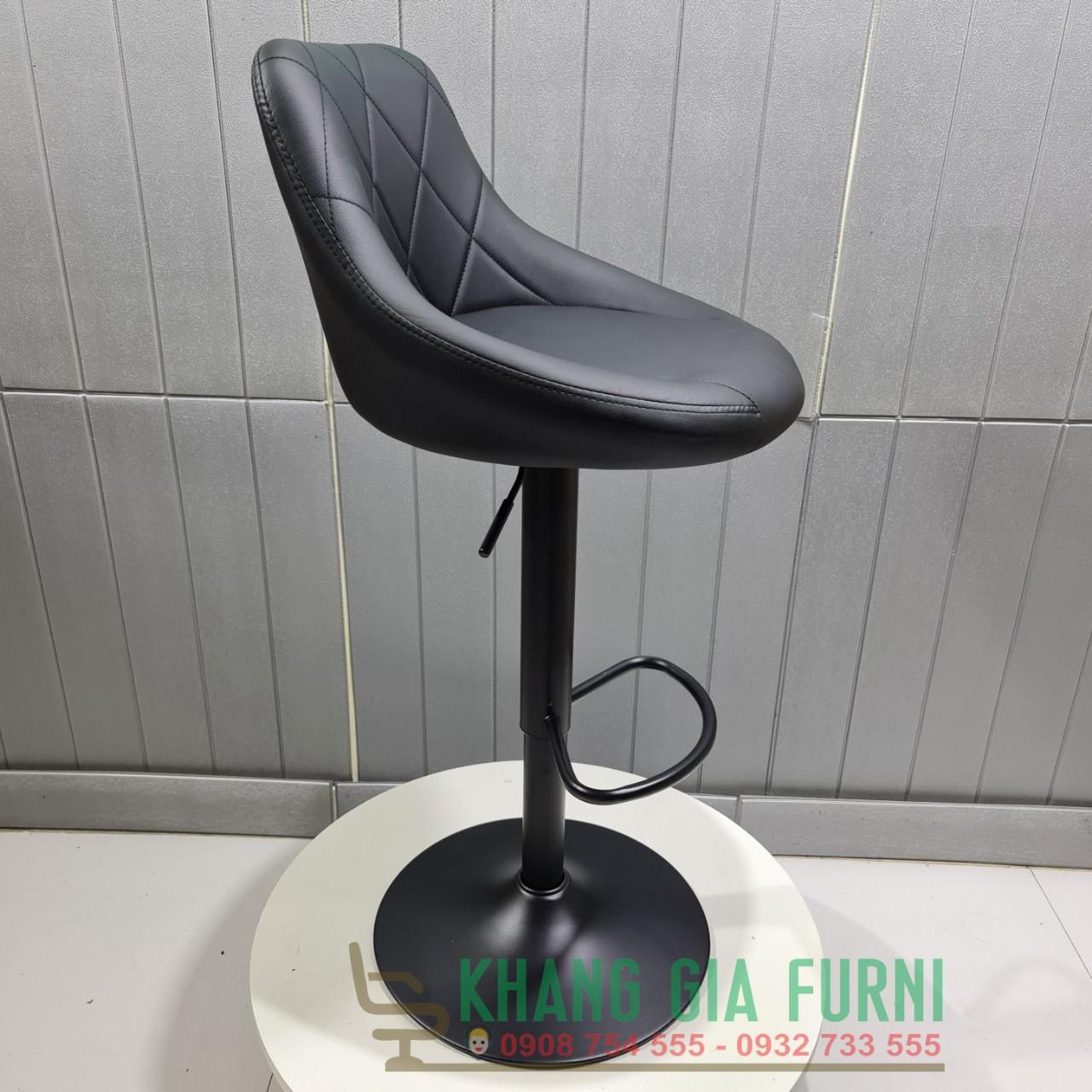 Ghế bar chân sắt sơn tĩnh điện đẹp : KG – S914