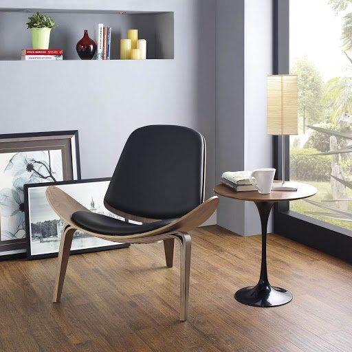 Ghế cafe thư giản khung gỗ lót nệm : KG – B223