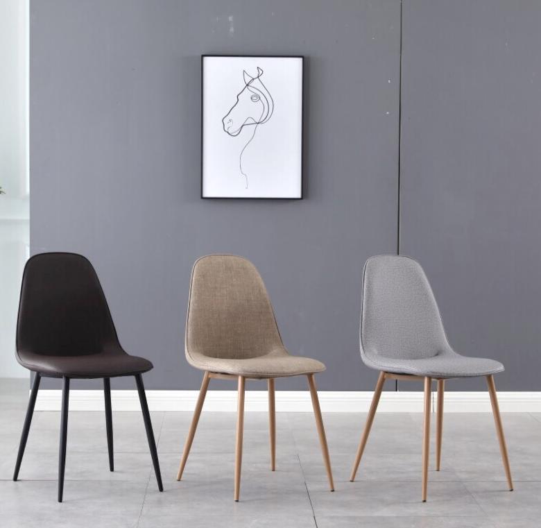 Ghế phòng ăn nệm chân sắt sơn tĩnh điện : KG – E265