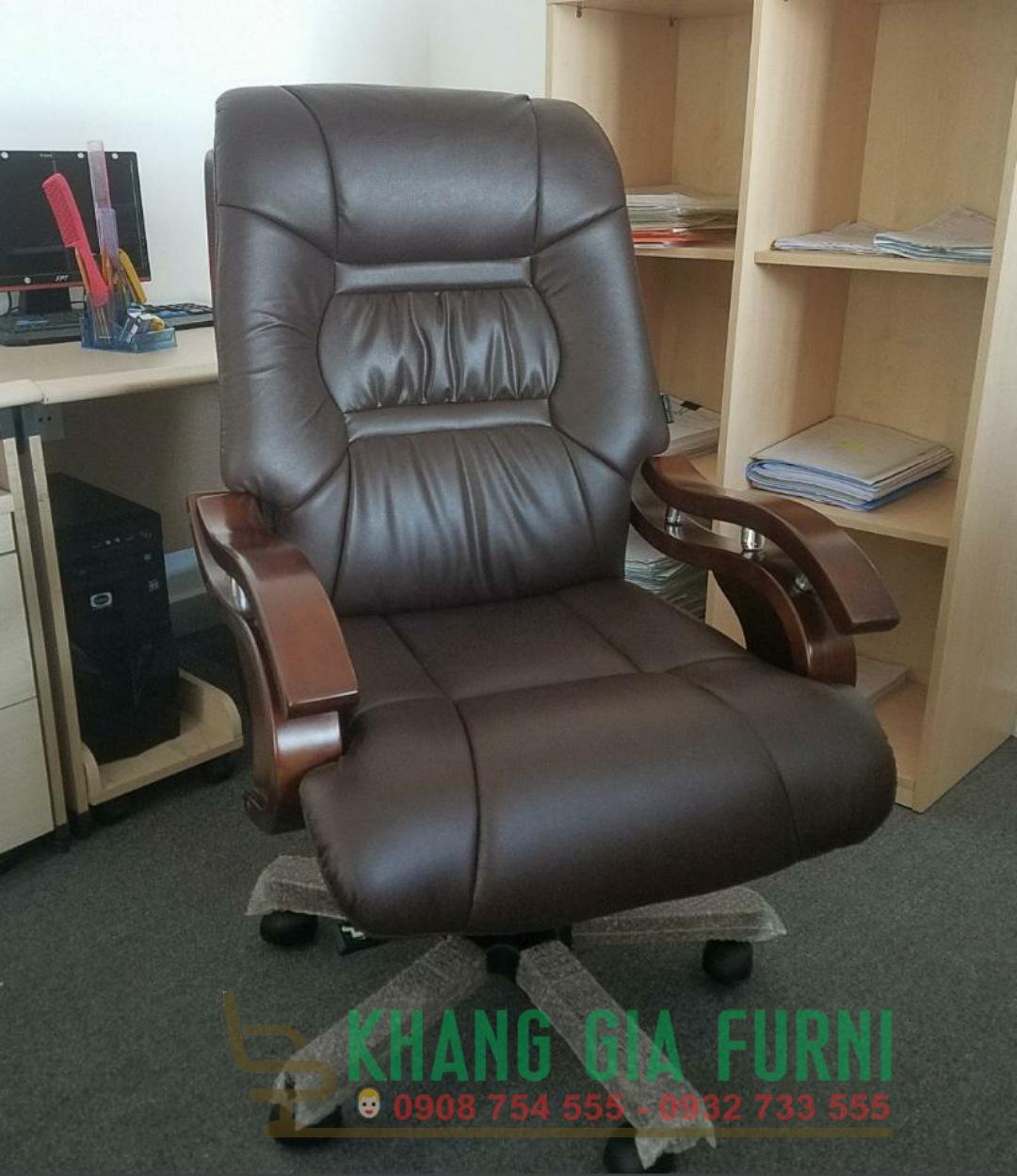 Ghế văn phòng cao cấp dành cho giám đốc : KG – 817