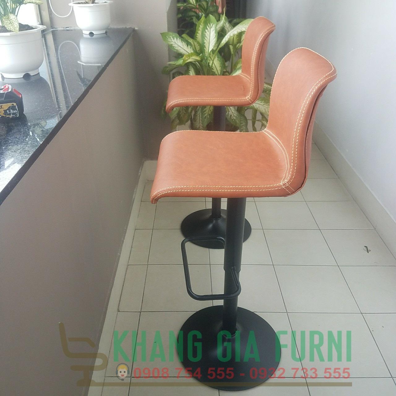 Sản phẩm ghế quầy bar đẹp tại Khang Gia : KG – B450
