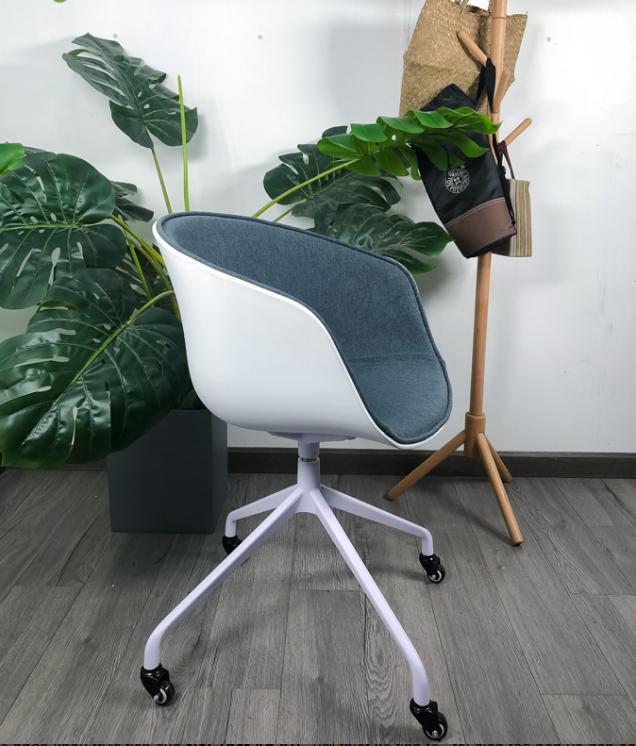 Ghế Hay chân xoay nệm ngồi bọc vải hiện đại : KG – F360