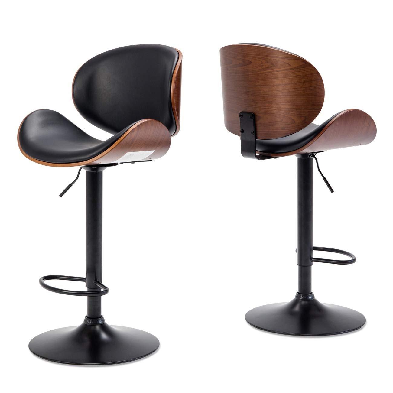 Ghế quầy bar cao cấp chân thép sơn tĩnh điện : KG – 443