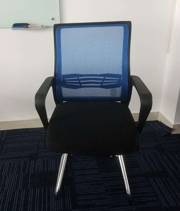 Ghế phòng họp lưới chân quỳ - màu theo yêu cầu - 720K